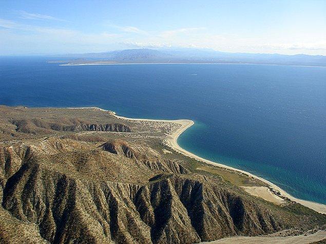 12. Meksika'daki Cerralvo Adası