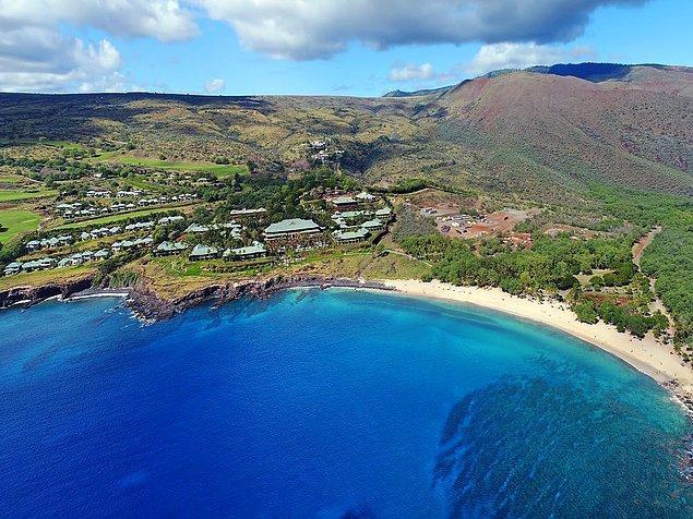 15. Hawaii'deki Lanai Adası