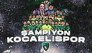 Efsane Geri Dönüyor! Sakaryaspor'u 4-0 Yenen Kocaelispor 11 Yıl Sonra TFF 1. Lig'e Çıktı