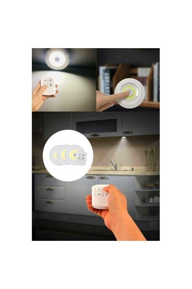 6. Uzaktan kumanda ile evin ışıklarını kontrol edin.