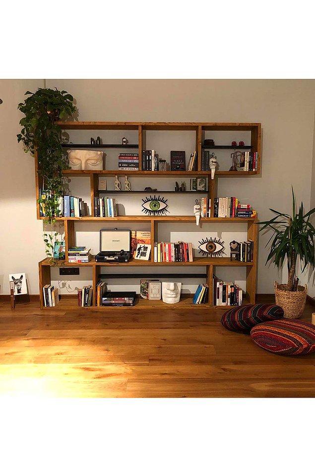 15. O kadar geniş ki sadece kitaplarınızı değil, her şeyi koyabilirsiniz!