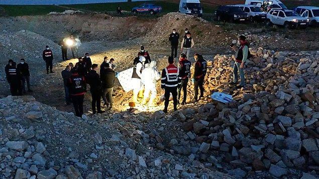 Bahri M. hastanede alınan son ifadesinde Fatma Öz'ü tabancayla öldürdüğünü ve ilçe yakınlarındaki Kavak köyü yakınlarında, taşlık bir alana gömdüğünü itiraf etti.