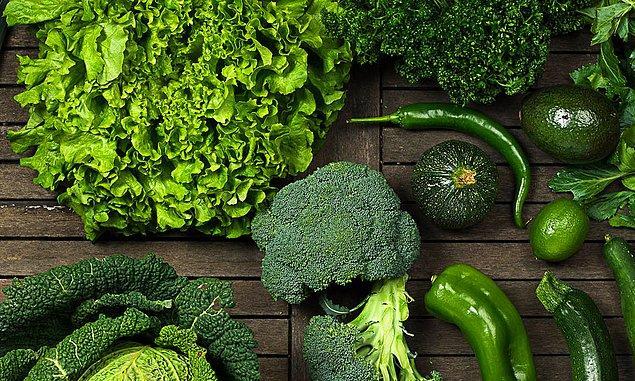 5. Yeşil sebzeler