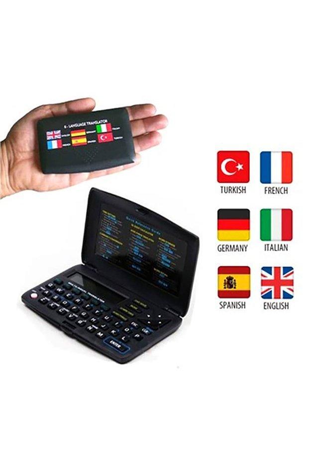 5. Elektronik sözlük internetsiz durumlarda sizi kurtarabilir!