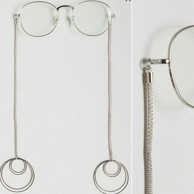 15. Gözlük zincirini biliyorduk da gözlük küpesini ilk kez görüyorum.