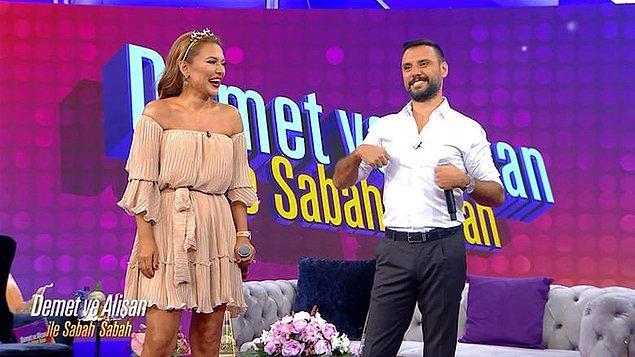 Geçtiğimiz sene Star TV'de Demet Akalın ve Alişan'ın sunduğu bir sabah programı başlamış yakın zamana kadar devam etmişti.