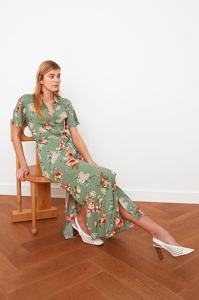 7. Gömlek elbise modası hiç biteceğe benzemiyor.