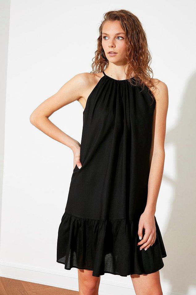 14. Her gardıropta olması gereken kurtarıcı bir elbise.