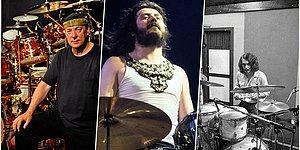 Performanslarına Hayran Olmamak Elde Değil! Rock Tarihinin Gelmiş Geçmiş En İyi 12 Davulcusu
