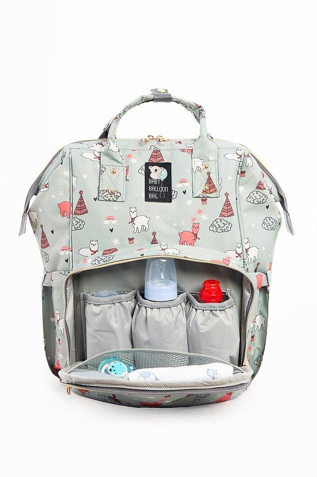 15. Geniş iç hacme sahip, desenleri son derece sevimli, gözleri ise çok kullanışlı olan bir sırt çantası. Üstelik şu anda indirimde!