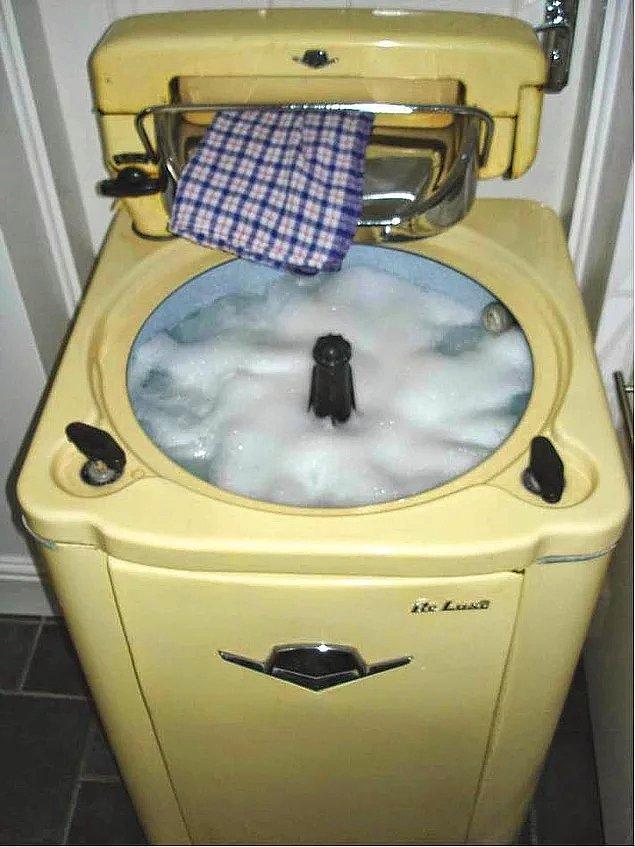 12. Merdaneli Çamaşır Makinesi