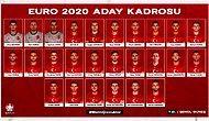4 Futbolcu Çıkarıldı! A Milli Futbol Takımımız'ın EURO 2020 Kadrosu Açıklandı