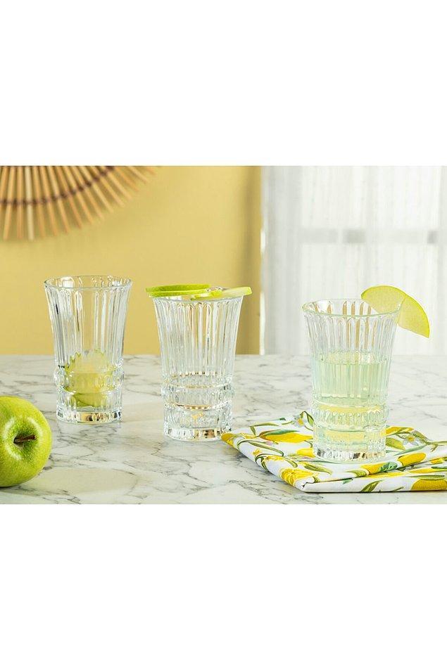 5. Yaz aylarında buz gibi meyve suları için hoş bir sunum yapılabilir...