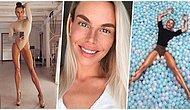 1 Metreden Fazla Olan Bacak Boyu ile Gören Herkesi Kendisine Hayran Bırakan İsveçli Model