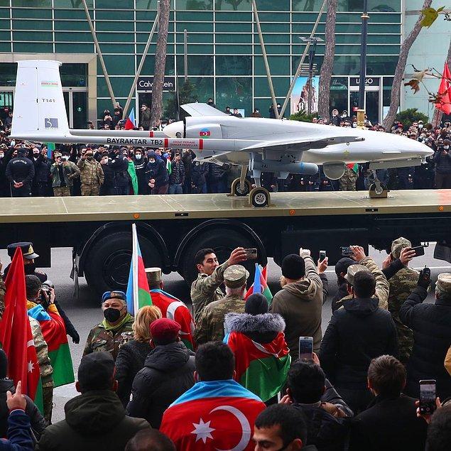 Karabağ zaferinde Türk SİHA'ları