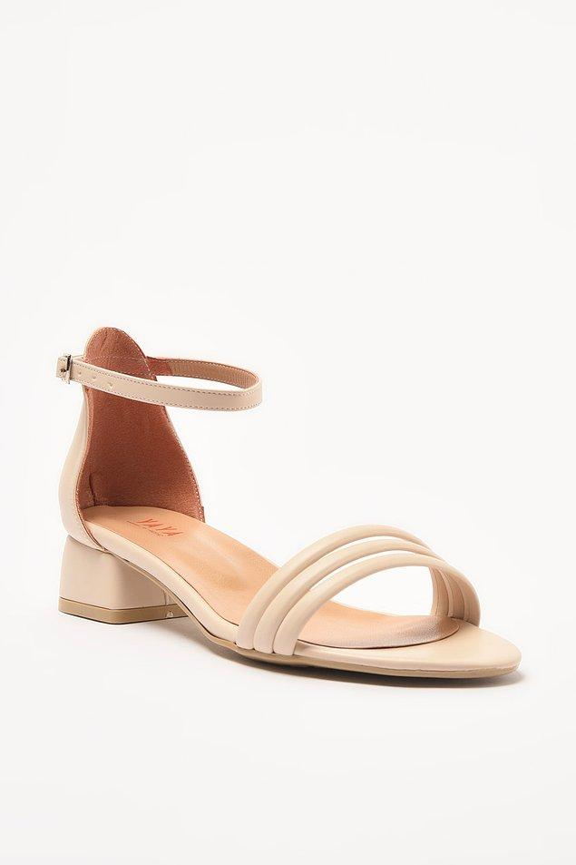 2. Kısa Topuklu Ayakkabı