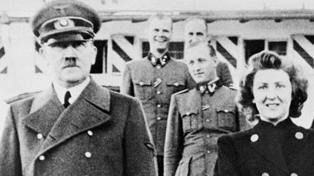 Hitler ilişkileri boyunca Eva ile olan fotoğraflarının yayınlanmasını engelledi ve hatta pek çok etkinlikte Eva'yı görmezden geldi.