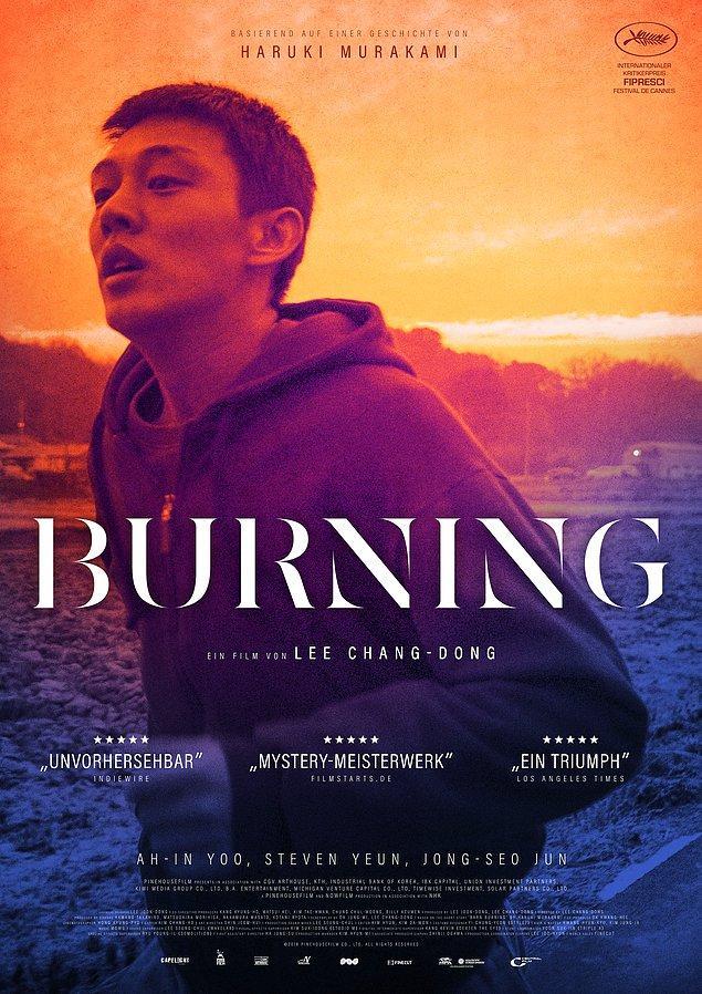 7. Burning