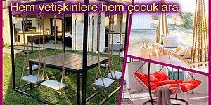 Balkonunuz ve Bahçenizde Keyifli Vakit Geçirmenizi Sağlayacak En İyi 13 Hamak ve Salıncak