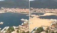 Marmara Denizi'nde Yaşanan Müsilaj Sorununun Ne Denli Büyük Olduğunu Gözler Önüne Seren Time Lapse Video