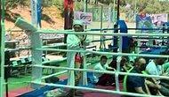 Muay Thai Milli Takım Seçmelerine Çağrılan İmam Ringde Namaz Kıldırdı