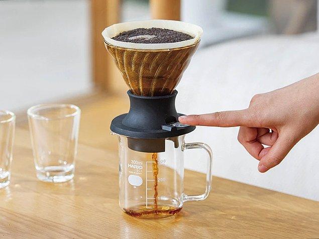 6. Damıtılmış kahve: Hario V60