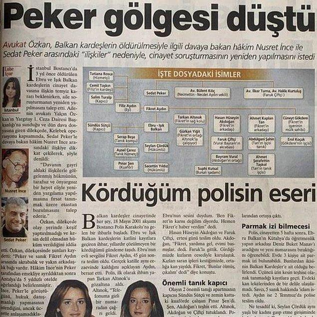 Balkan Kardeşler cinayeti üzerinden iddialar