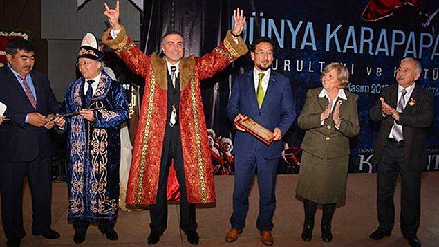 Karapapak Türkleri Kurultayı'nda unvan