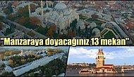 İstanbul'un Eşsiz Manzarasını Doya Doya İzleyebileceğiniz En İyi 13 Mekan