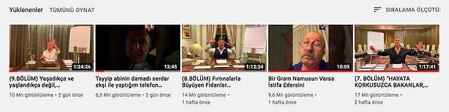 Herkesin nedeni farklı tabii. Ama şu gerçek. Milyonları müptela etti. Adeta Youtube'un sanal torbacısı oldu Sedat Peker. (mecazi anlamda)