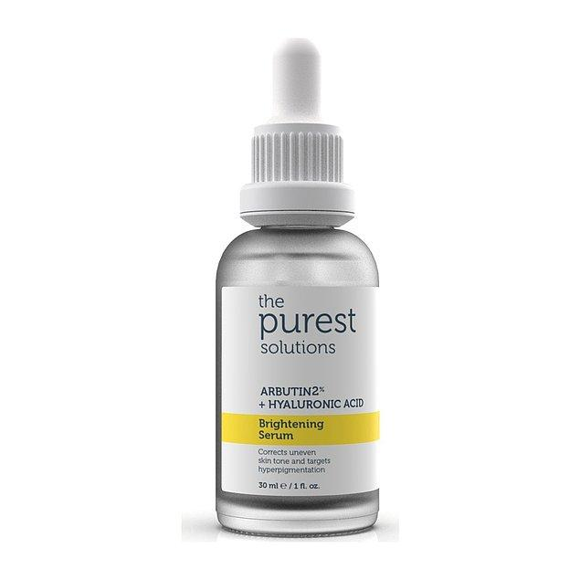 14. The Purest Solutions marka leke giderici ve cilt tonunu eşitleyici serumu kullanan herkes çok memnun.