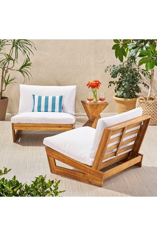 1. Havalar ısınmışken şöyle bir balkon sefası yapmak çok iyi gelir.