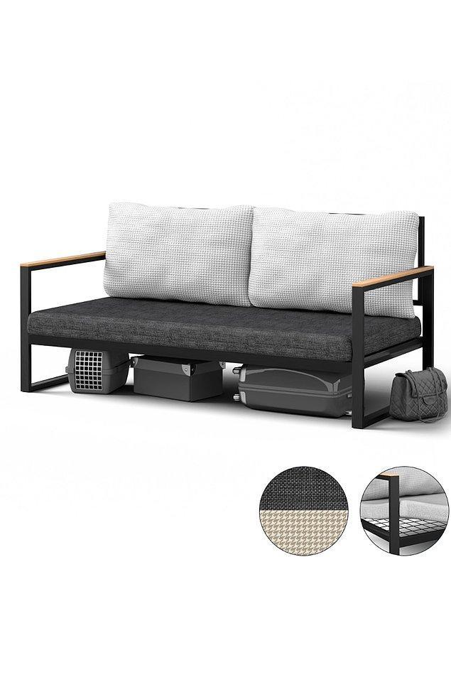 12. Bence bu kanepeyi büyük balkonu olanlar da değerlendirebilir.