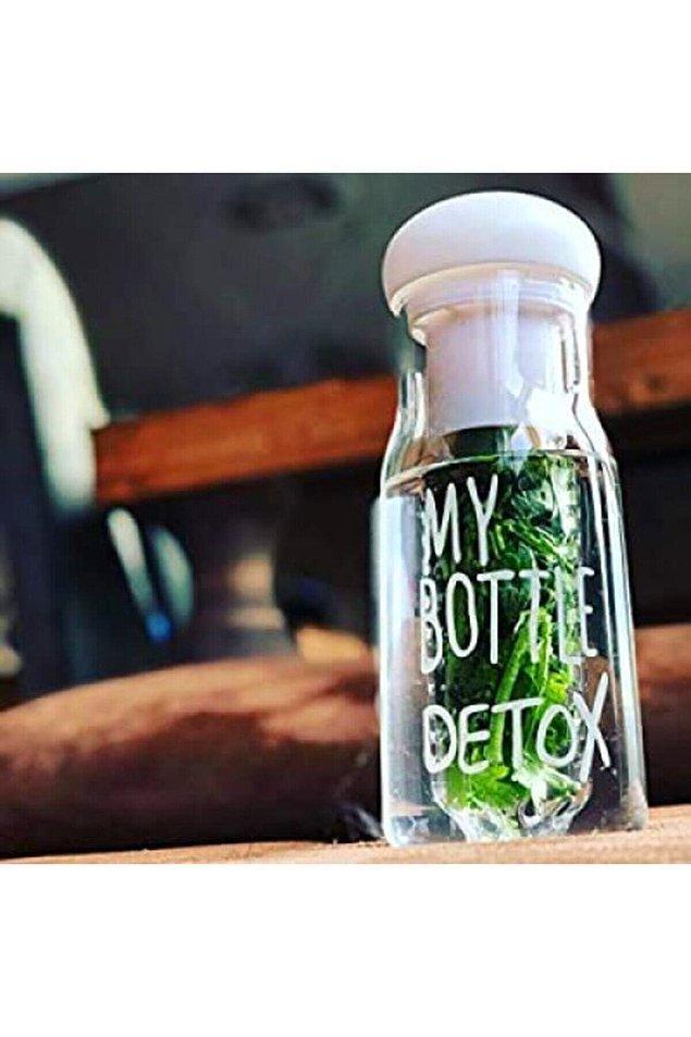 8. Sıkı bir diyet yapmıyorsanız günlük rutininize detoks sularını entegre edebilirsiniz.