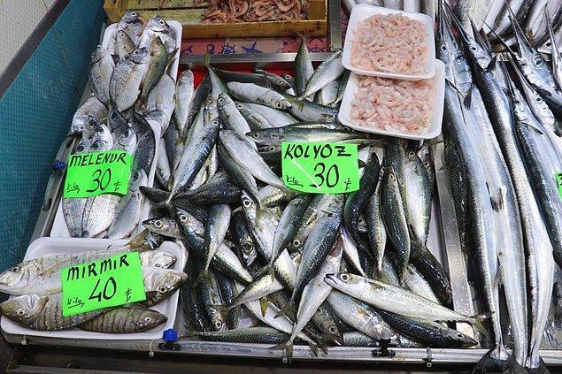 Balık satışları durma noktasında