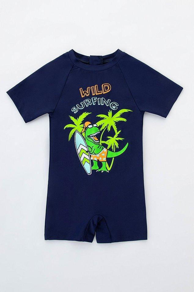 17. Dinozor seven çocuklar için çok tatlı bir mayo...