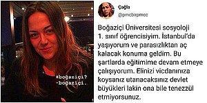 Boğaziçi Üniversitesi'nde Okuyan Öğrencinin Parasızlık İsyanına Gelen Akılalmaz Yorumlar Sinirinizi Bozacak