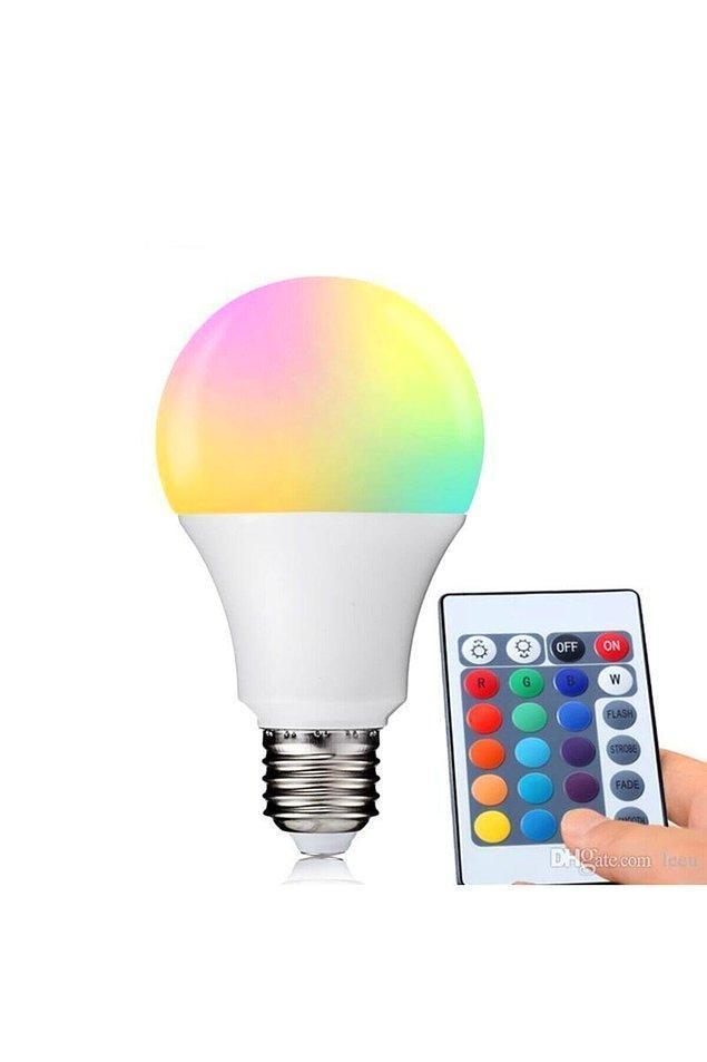 11. Benim gibi ortamın rengine göre modunuz değişiyorsa bu ürün tam size göre.