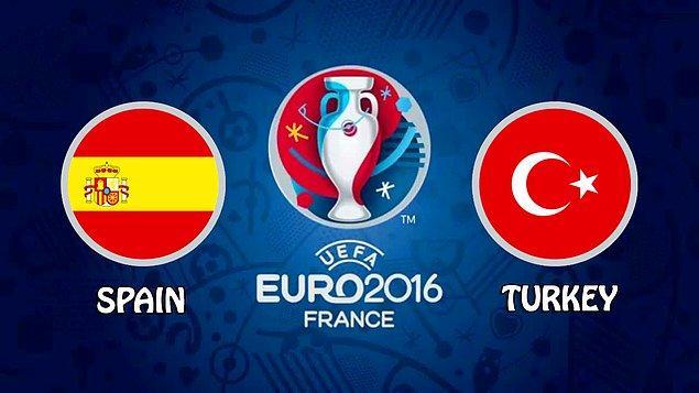 İkinci maç İspanya - Türkiye