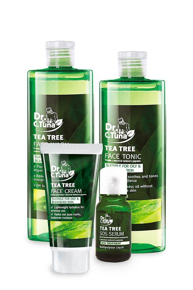 10. Farmasi Dr. C. Tuna çay ağacı dörtlü yüz bakım seti