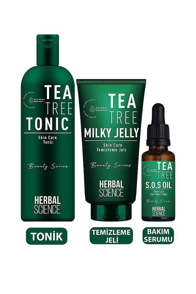 9. Herbal Science çay ağacı seti