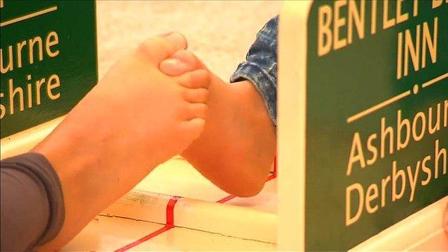 1. Ayak parmağı güreşi