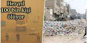 Tozdan Dolayı Her Yıl 100 Bin Kişinin Öldüğü Dünyanın En Kirli Şehri Toz Cehennemi Lahor