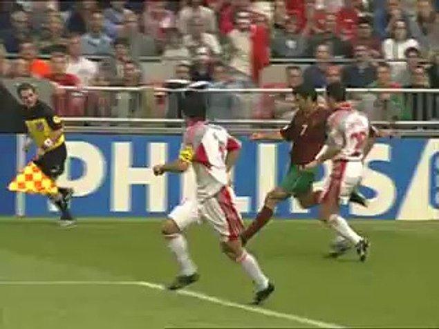 2000 Avrupa Şampiyonası - Kaçan penaltı