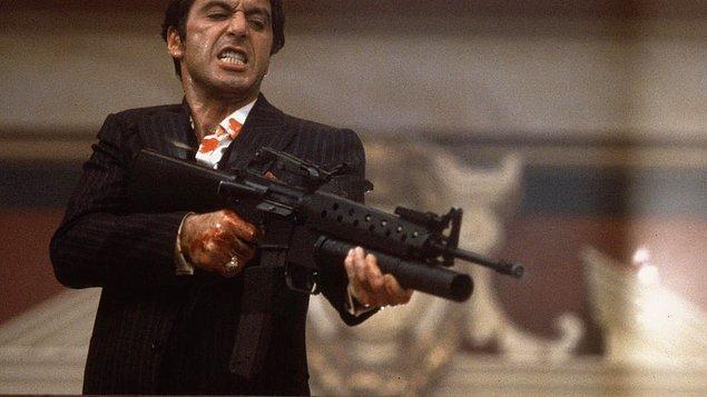 10. Scarface / Yaralı Yüz (1983)