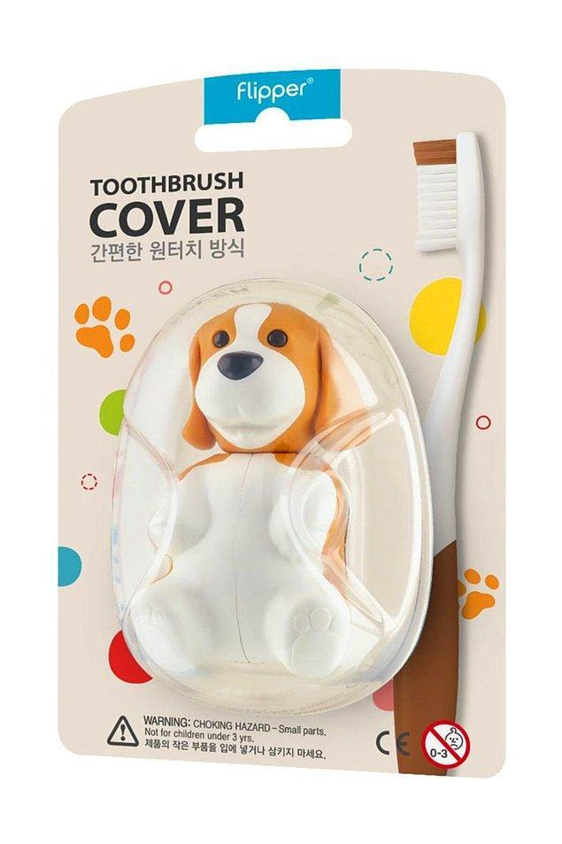 6. Dünyanın en sevimli diş fırçası bekçisi banyonuzda!