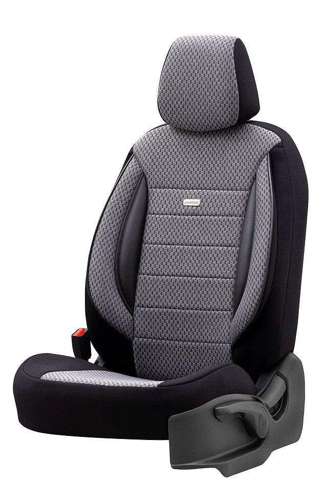 4. Koltuk kılıfıyla arabanın yıpranan koltuklarına yeni bir görünüm kazandırabilirsin.