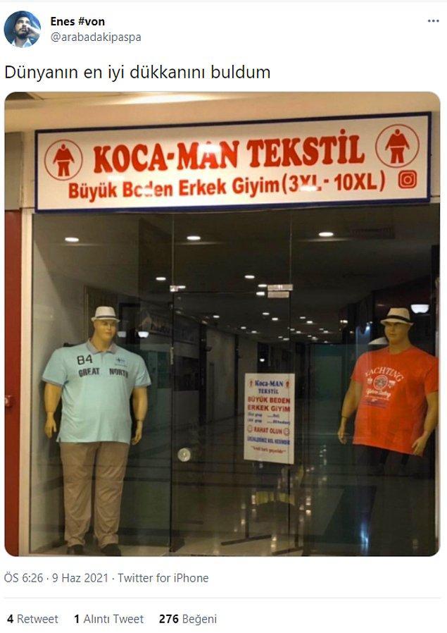 13. Pandemi sonrası gidilecek ilk mağaza. :)