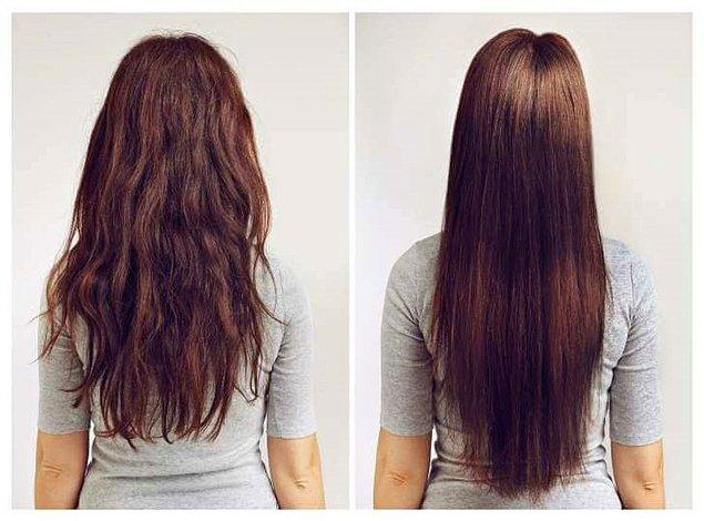 10. Saç düzleştirme veya şekillendirme öncesi ısı koruyucu kullanmayı unutma.