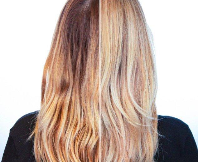 11. Sarı saçı çok sevsek de maalesef bakımının zor olduğunu kabul ediyoruz.